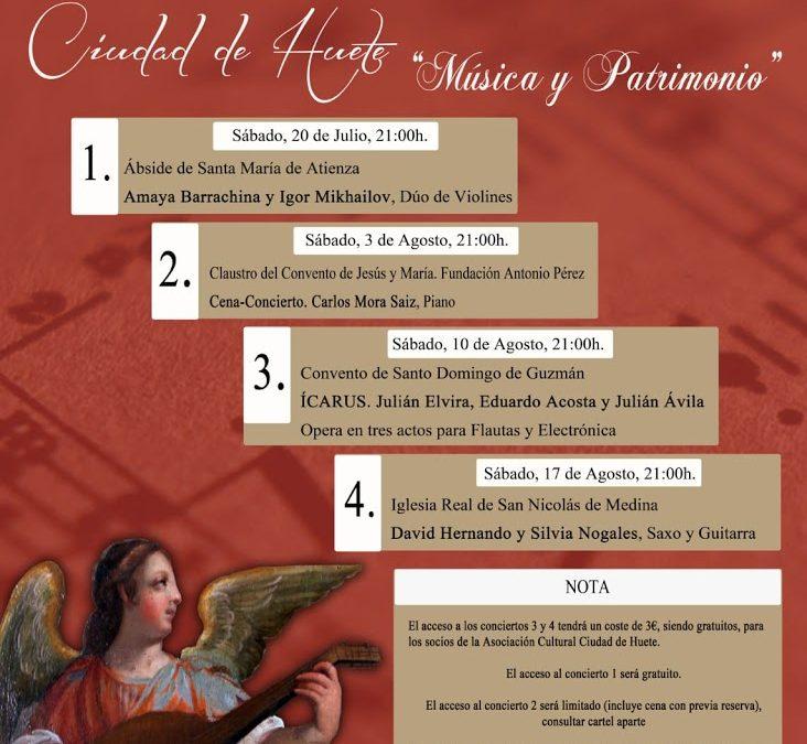 XII Ciclo de Conciertos Ciudad de Huete