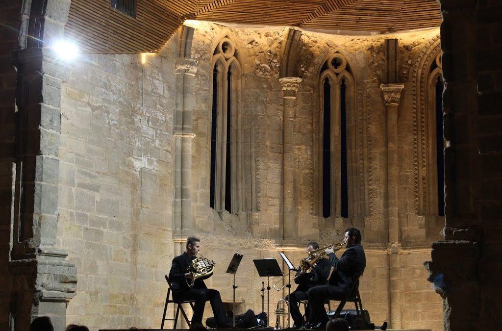 Concierto del trío Olcades en Santa María de Atienza