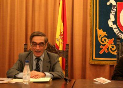 Conferencia sobre fray Ambrosio Montesino por Manuel de Parada y Luca de Tena – 2009