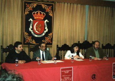 Ciclo de conferencias – 1999/2003